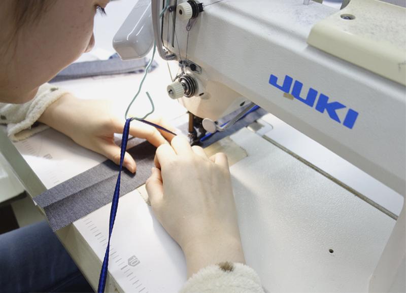 03_テープの縫製